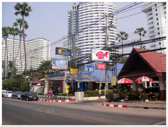 Photos de Thaïlande  Immeubles Jomtien.