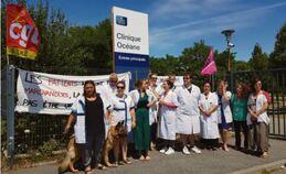 Clinique Océane : un lock-out déguisé pour briser une grève !