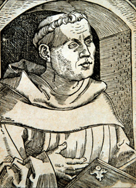 Martin Luther (10 novembre 1483, Eisleben, Thuringe ; 18 février 1546) par Hans Baldung