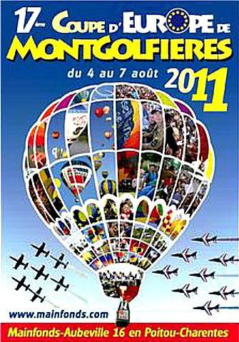 affiche coupe d'europe de montgolfieres 2011