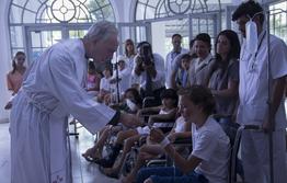 Padre Jorge et les malades