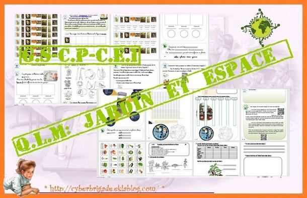 * Q.L.M: projet jardinage en lien avec la mission EKLOsion de Thomas Pesquet P1 *