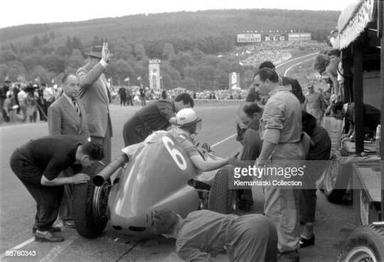 Mike Hawthorn F1 (1952-1954)