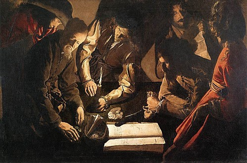Georges de La Tour - The Payment of Dues - WGA12330