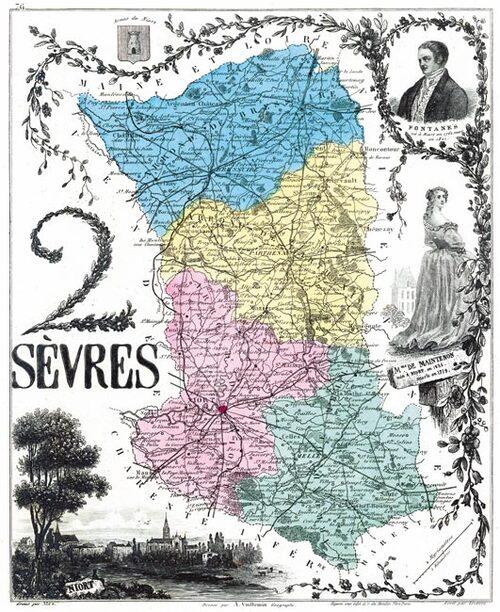 Paris -Saint-Maixent, la Guerre de Vendée....