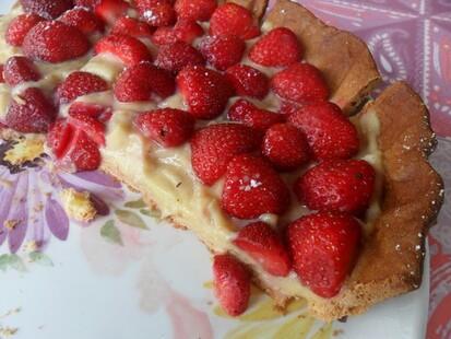 *** Tarte aux fraises ***