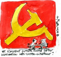 """Nos syndicats politisés veulent gerer le la france sur le modele """"perimé"""" sovietique."""