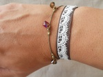 Bracelets dentelle ancienne