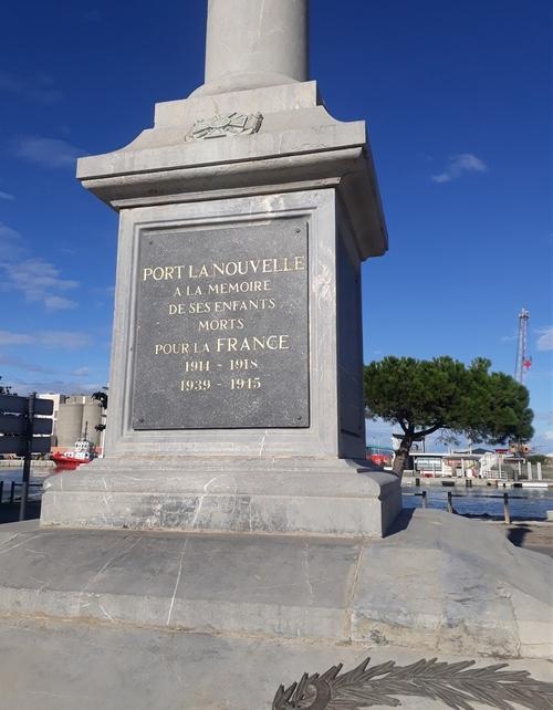 Visite du monument aux morts