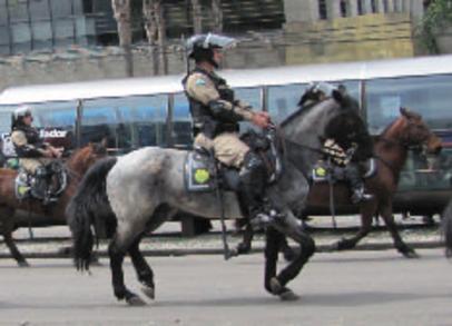 Gendarmes du monde - Polícia Militar du Brésil