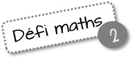 Défis maths