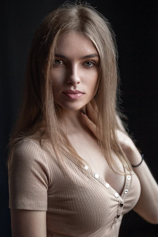 Portrait de femme glamour
