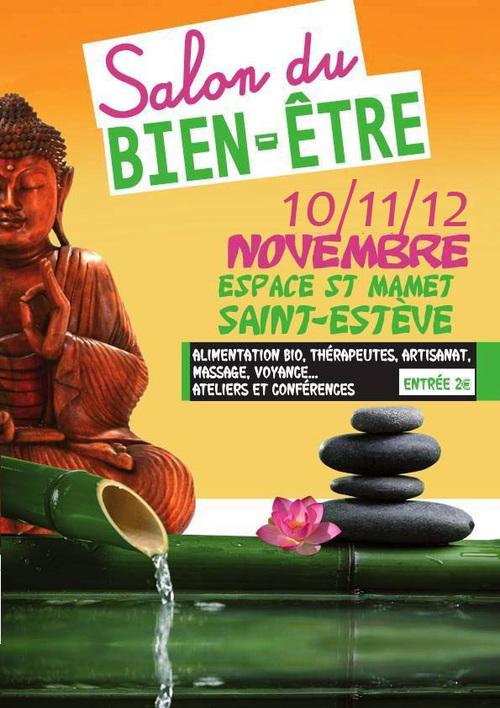 Salon du Bien-être à Saint-Mamet les 10,11 et 12 novembre