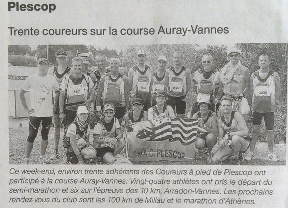 Auray-Vannes 2014