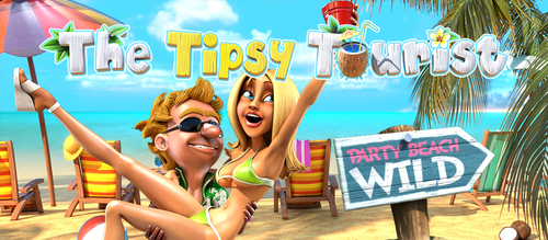 The Tipsy Tourist Casino Slot by Betsoft