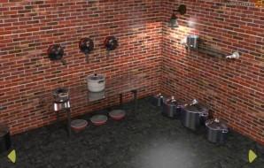 Pots and pans escape
