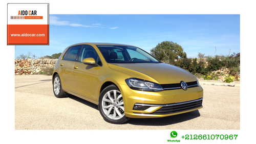 Location de voiture compacte à Casablanca – Location Volkswagen Golf VII