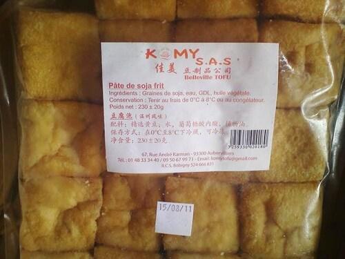 Tofu et pates chinoises