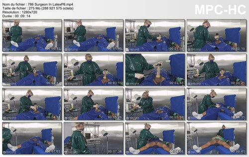 Chirurgie pour un patient 6