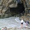 Trilha - Une grotte!