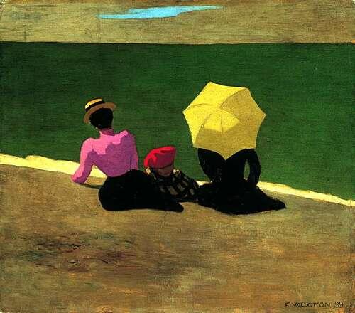 01 - Parapluies, ombrelles dans la peinture française