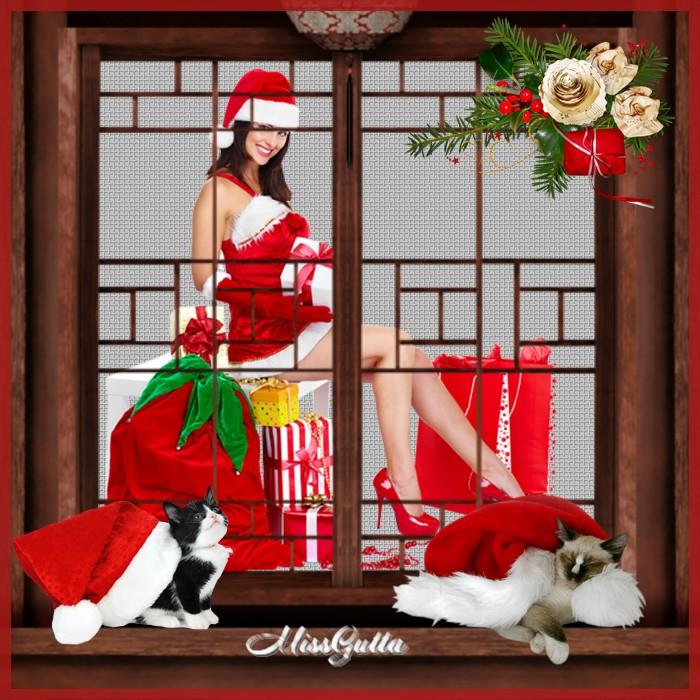 Maintenant sera Noël joyeuses fêtes mes amis-es