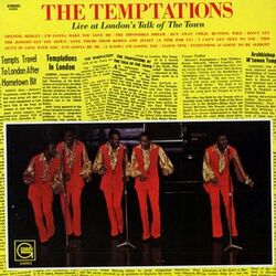 The Temptations - Live At London's Talk Of The Town - Complete LP