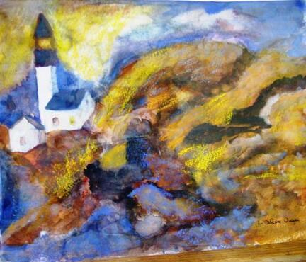 Blog de cathycolor : Artiste mal-voyante, Exposition de peinture à Strasbourg, novembre 2006. .
