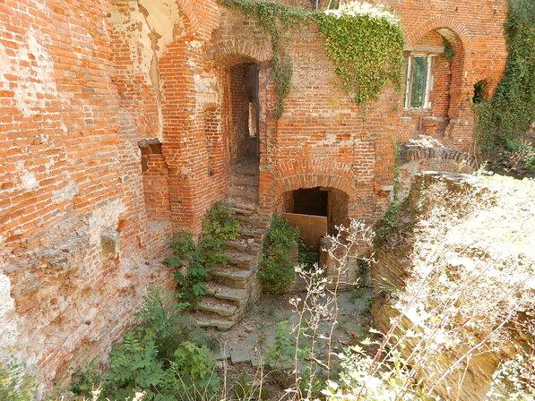 Fin de la visite du château de Beersel