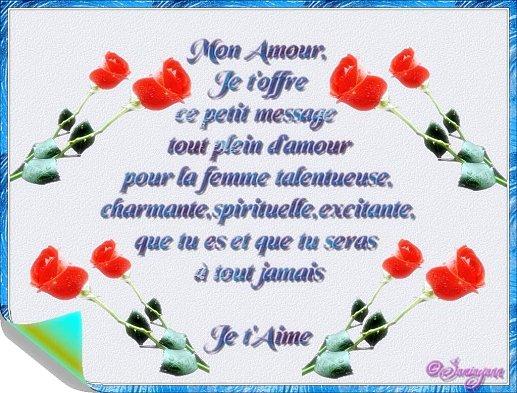 Carte Virtuelle Fleurie Postale Amour Fathia Artdeco
