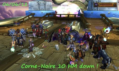 Corne-Noire 10 HM down =)