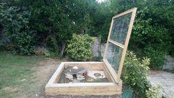 créer un enclos pour tortue hermann :