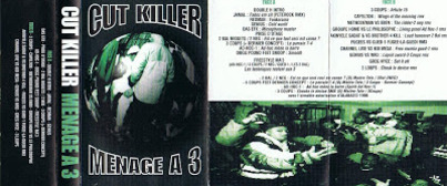 Cut Killer - Mix Tape Special Ménage à 3