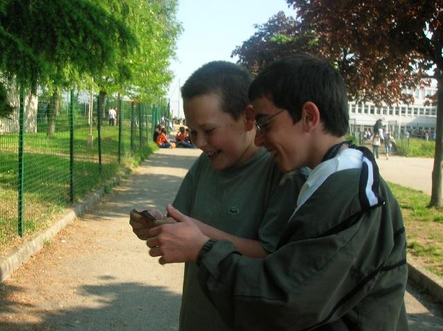 Aymeric et Rob.