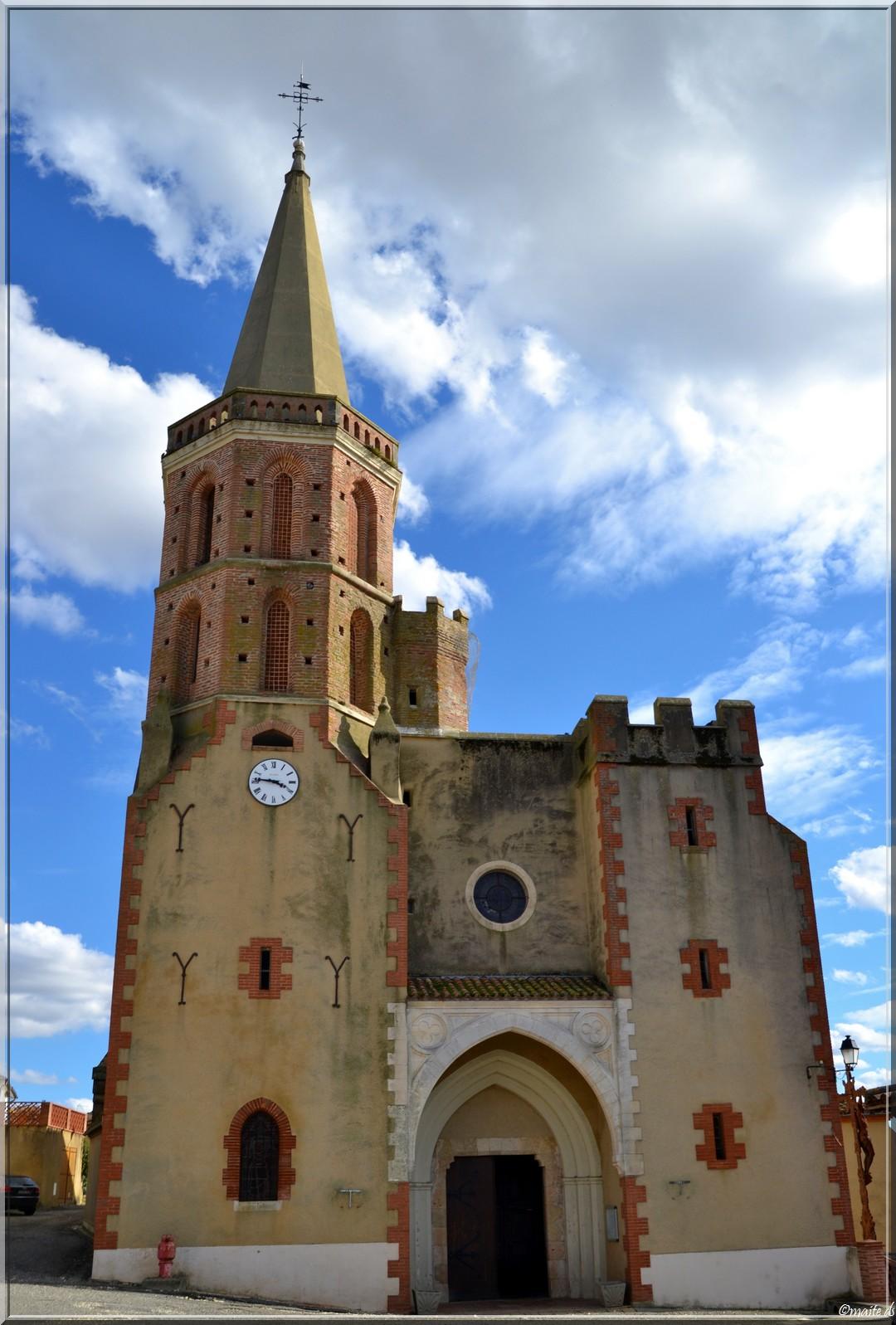 Eglise d'Aubiet - Gers (32)