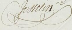 *JOSSELIN  Aimé-Cosme-Louis