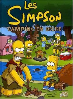 Chronique de la BD {Les Simpson - Camping en délire}