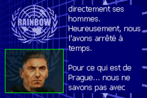 Rainbow Six Rogue Spear #10 Jarre de platine