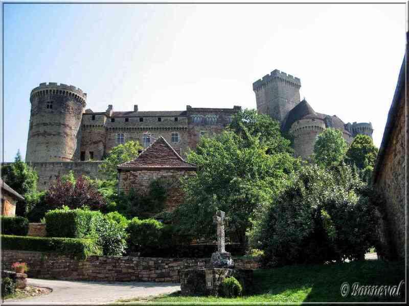 Bretenoux Lot château de Castelnau-Bretenoux