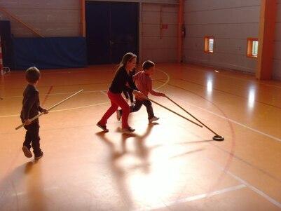 le hockey avec les GS