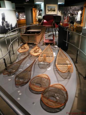 Raquettes au musée McCord...
