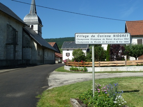 Bourgoin - Mijoux à vélo (2012)