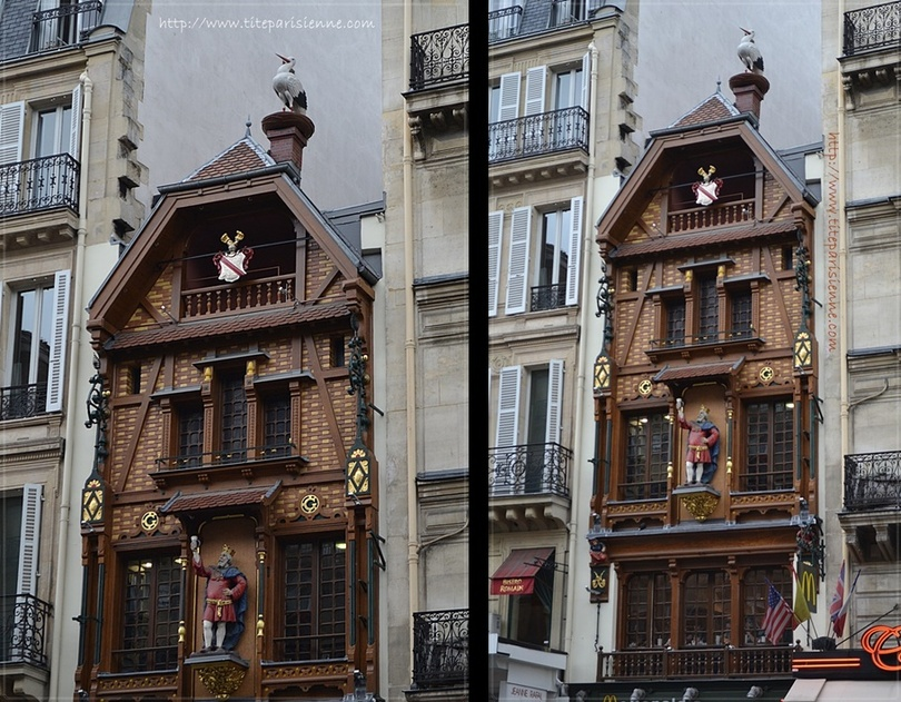 Une façade en colombage pour le Mac Donalds du quartier Saint Lazare