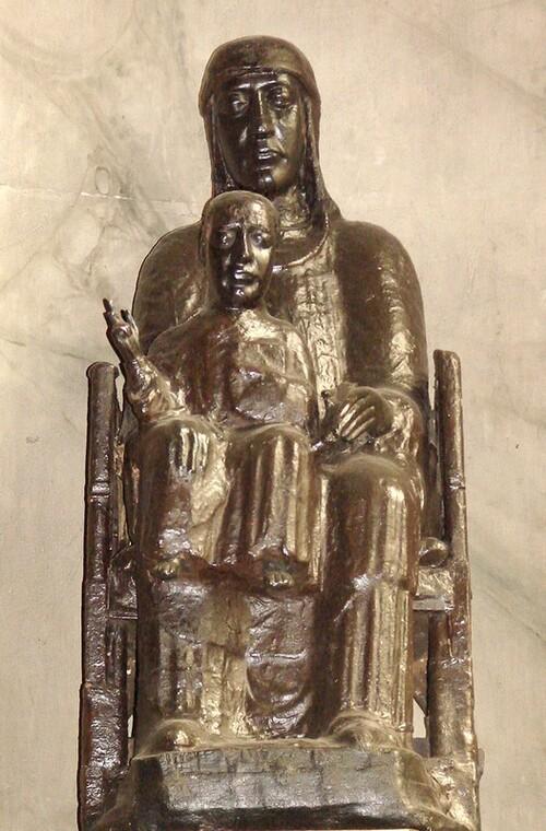La Vierge Noire de Moulins