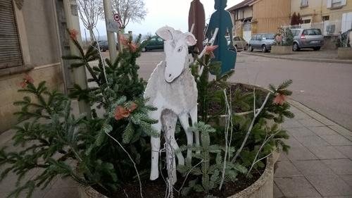 Les décos de Noël à Marcigny