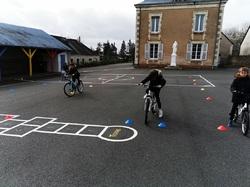 préparation sortie vélo