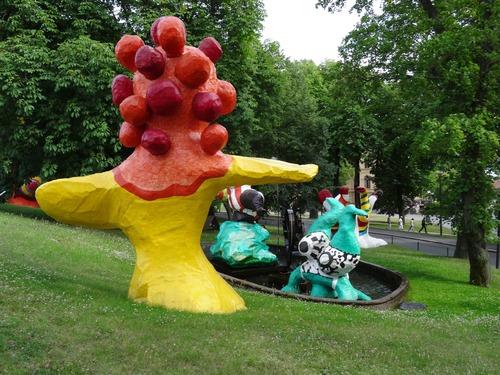 Stockholm: autour du musée d'art moderne (photos)