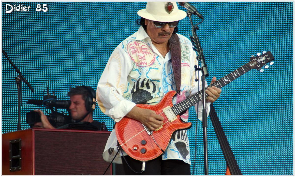 Santana (1) - Festival des Vieilles Charrues 2013