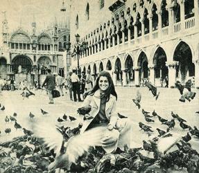 Septembre 1970 : En gondole à Venise