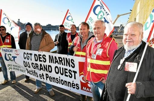 Les marins CGT tiennent à leur régime spécial de retraites (LT.fr-3/12/19-19h09)